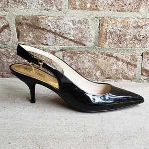 Michael Kors Slingback Black Patent Pumps